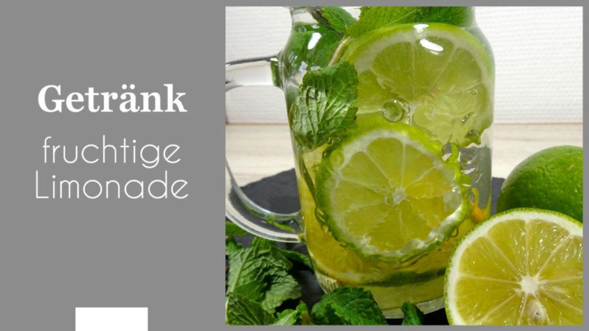 fruchtige Limonade