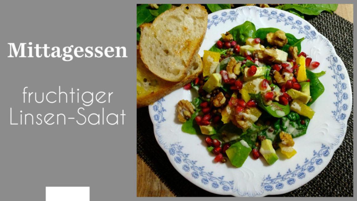 fruchtiger Linsen-Salat