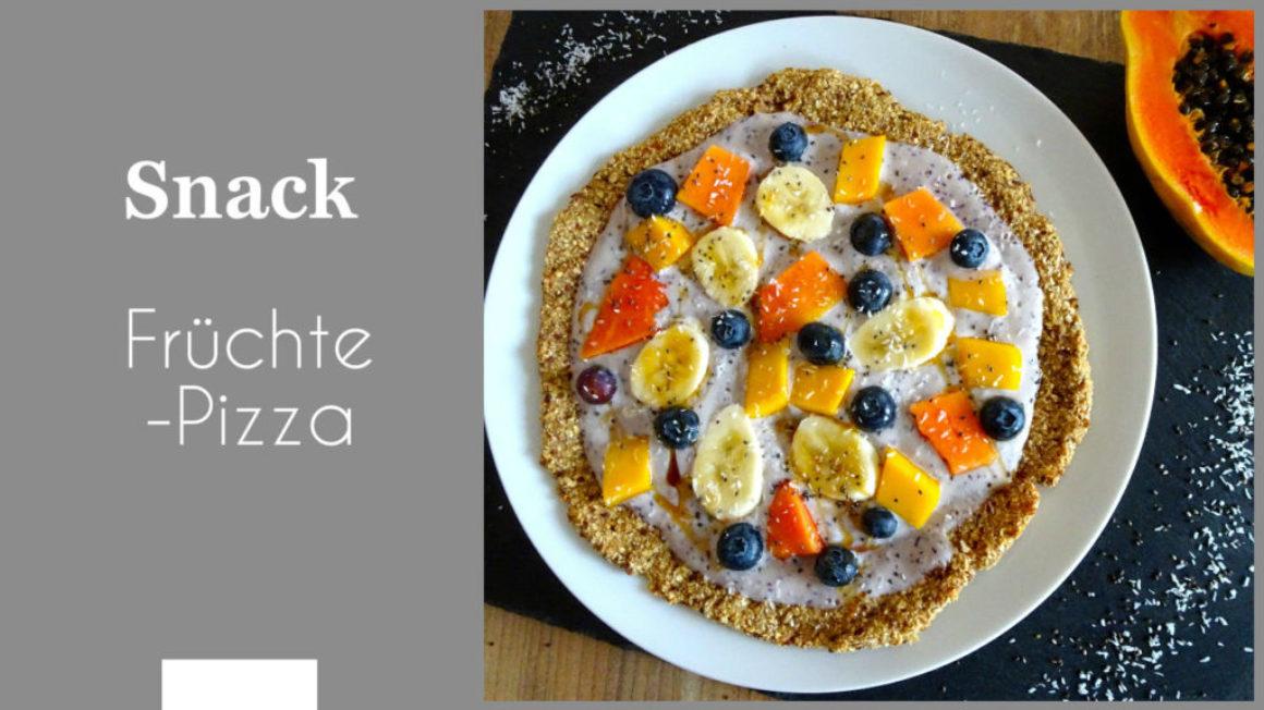 Früchte-Pizza