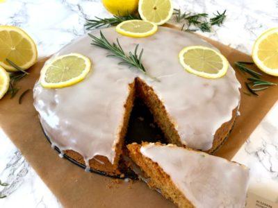 Zitronen-Rosmarin-Kuchen