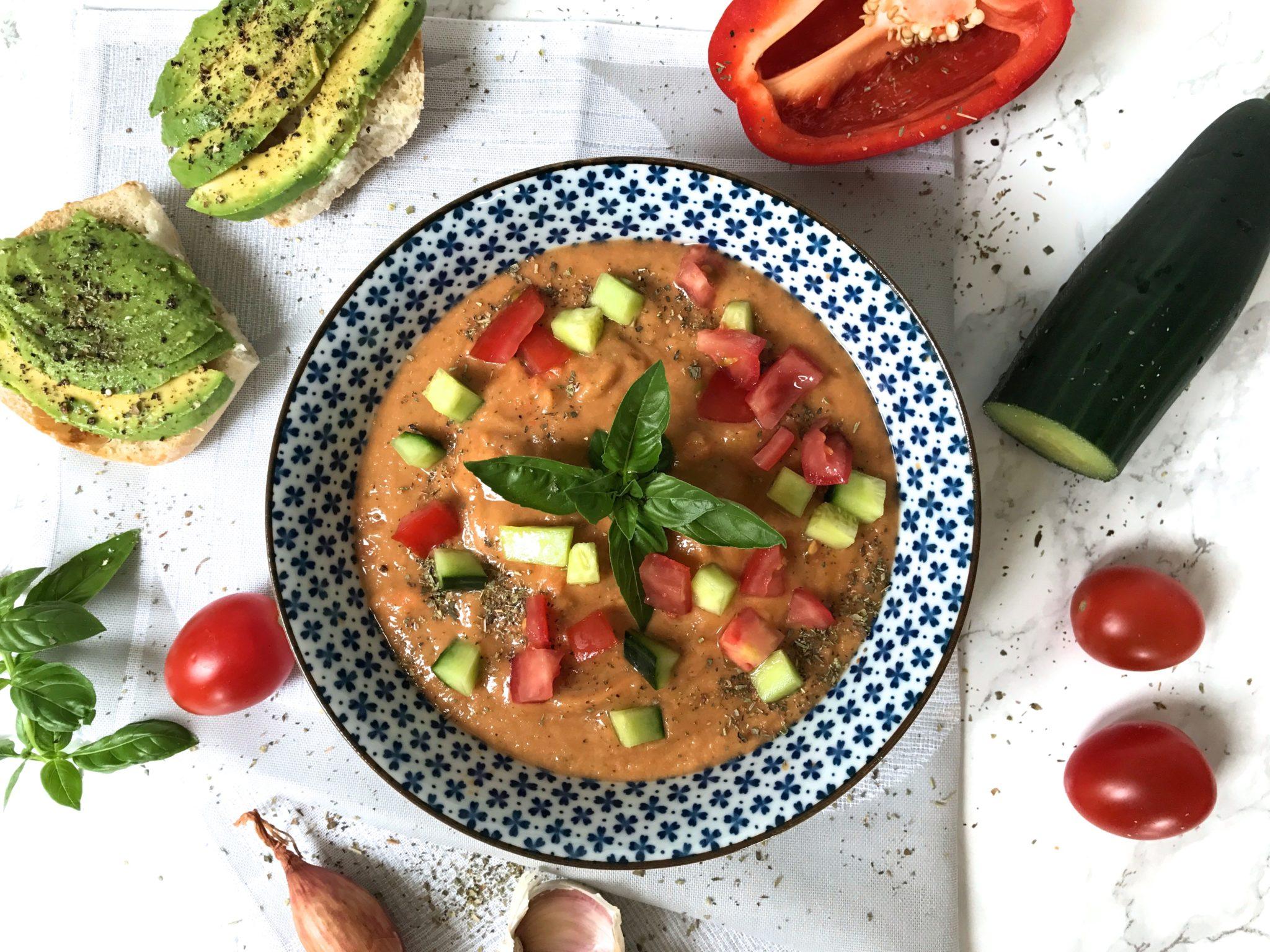 Gemüse-Gazpacho vegan