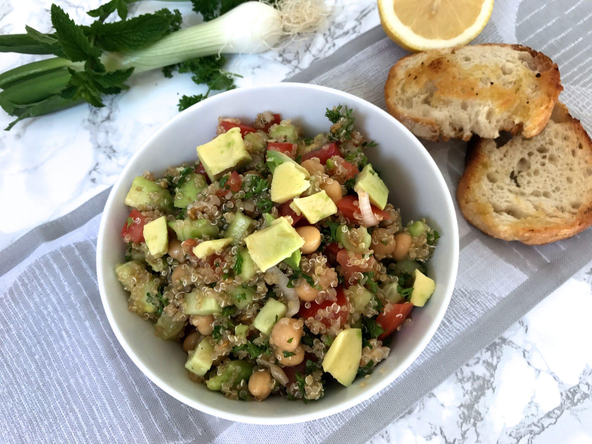 Quinoa-Tabouleh vegan