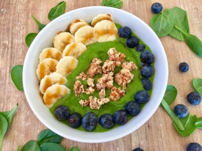 Grüner Power-Smoothie vegan