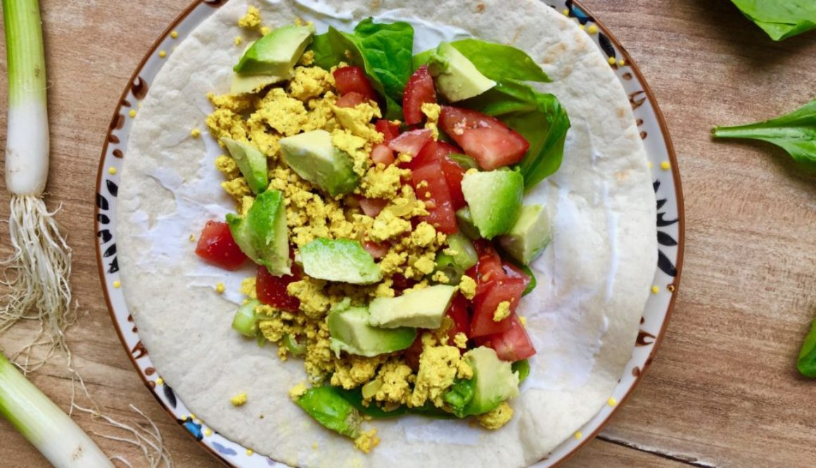 Frühstücks-Burritos vegan