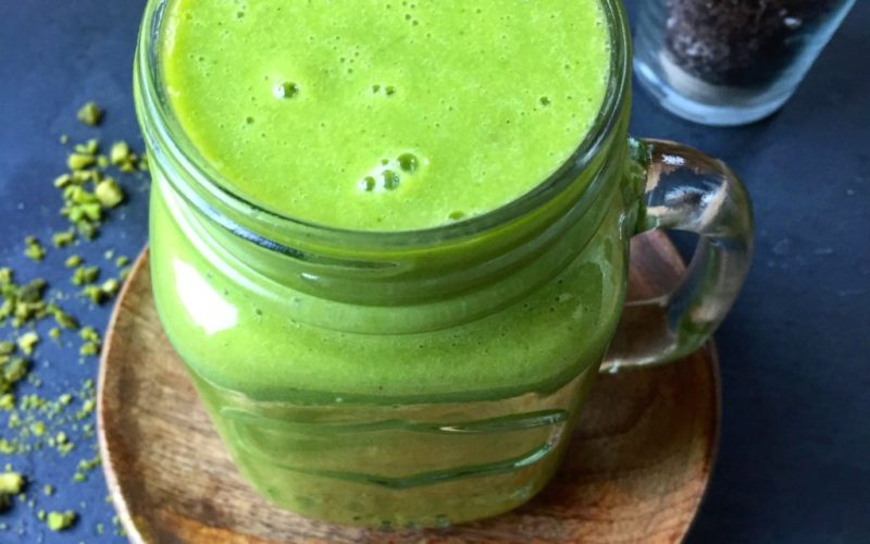 Grüner Smoothie vegan
