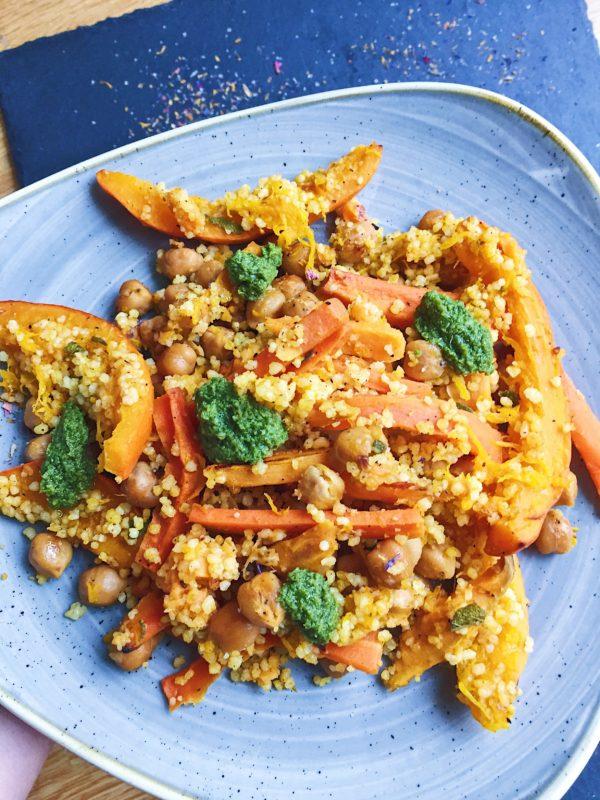 Couscous-Gemüse-Pfanne