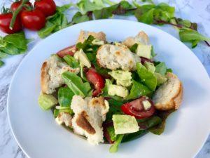 Brotsalat vegan