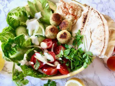 Falafel Bowl vegan