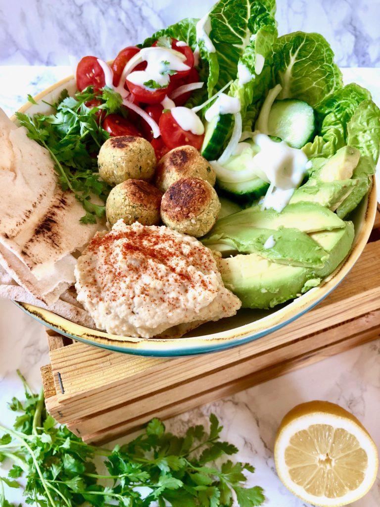 Falafel-Bowl vegan