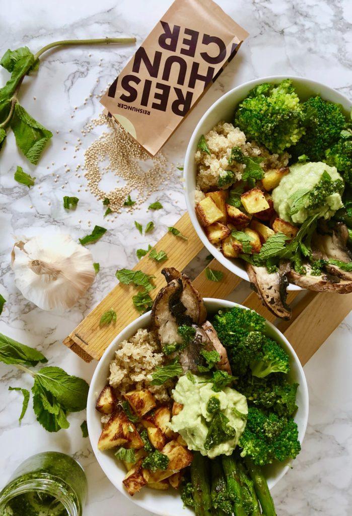 Frühlings-Bowl vegan